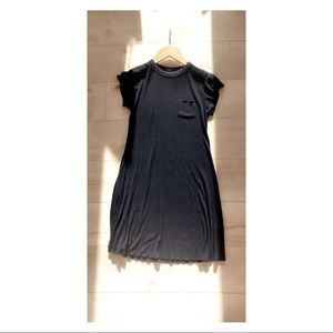 URBAN OUTFITTERS navy blue t-shirt minidress